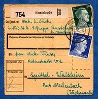 Colis Postal  - Départ Buxtehude -  15/2/1943 - Allemagne