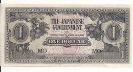 MALAYA JAPANESE GOVERNMENT 1 DOLLAR ND1942 UNC P M5 - Myanmar