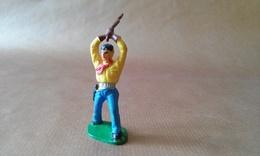 FIGURINE COWBOY Fusil Levé Massue JIM - Army