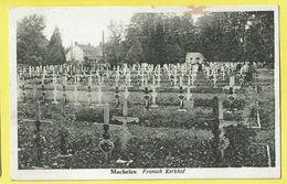 * Machelen (Vlaams Brabant) * (Uitg. J. Naessens Steyaert) Frans Kerkhof, Cimetière Française, Frensh Cemetery, Croix - Machelen