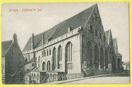 * Brugge - Bruges (West Vlaanderen) * (32 - C.T.C.A.) Hopital Saint Jean, Sint Jan Hospitaal, Clinique, Reien, Façade - Brugge
