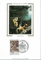 Frankreich France 1995 - Forstarbeit In Den Ardennen - MiNr 3086 MK - Protection De L'environnement & Climat