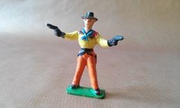 FIGURINE COWBOY Debout Avec Deux Revolvers JIM - Army