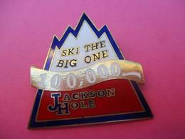 Insigne à épingle/ Ski/ Jackson Hole / Wyoming/USA/ / Vers 1960-1980                         MED269 - Sports D'hiver