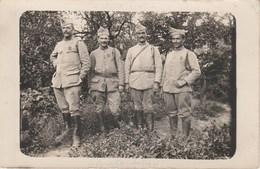 Quatre Soldats Du 408e D'Infanterie(datée Du 11 Aout 1918) 1097H - War 1914-18