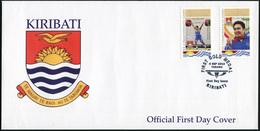 Kiribati. 2014. David Katoatau (*1984) (Mint) First Day Cover - Kiribati (1979-...)