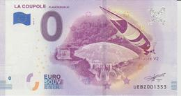 Billet Touristique 0 Euro Souvenir France 62 La Coupole Planétarium 3D 2018-2 N°UEBZ001353 - Essais Privés / Non-officiels