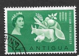 ANTIGUA    1963 Freedom From Hunger   U - Antigua & Barbuda (...-1981)