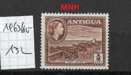 ANTIGUA    1963 Landscapes - Different Watermark  ** - 1858-1960 Colonia Británica