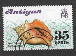 ANTIGUA      1972 Shells    USED - Antigua & Barbuda (...-1981)