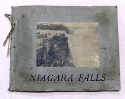 Album Raccolta Stampe Fotografiche D'epoca Niagara Falls - 1900 Ca. - RARO - Foto