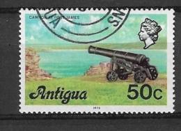 ANTIGUA    1976 Local Motives  USED  - CANON AT FORT JAMES - Antigua & Barbuda (...-1981)