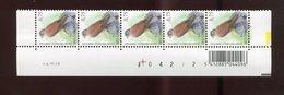 Belgie Buzin 0.75€ 3609 18/12/2006 Paar Velnummer Drukdatum Datumstrook Bande Datée Velnr 08158 - 1985-.. Birds (Buzin)