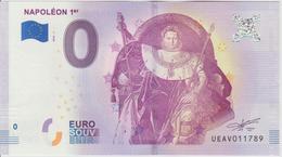 Billet Touristique 0 Euro Souvenir France 75 Napoléon 1er 2018-1 N°UEAV011789 - EURO