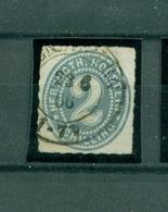 Schleswig-Holstein, Wertziffern Im Oval, Nr. 21 Gestempelt - Schleswig-Holstein