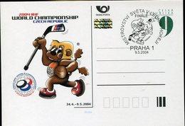 37930 Ceska Rep. Special Card 2004 Praha  World Champ.,  Hochey On Ice  Eishockey - Hockey (sur Glace)