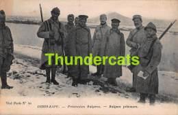 CPA  DEMIR KAPU PRISONNIERS BULGARES BULGARS PRISONERS GUERRE 1914 1918 - Bulgarie