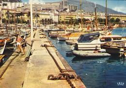 20--2A---AJACCIO--le Port De Plaisance-vue Sur La Ville--voir 2 Scans - Ajaccio
