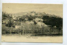 06 CAGNES Sur MER Vue Large Du Village 1904 Dos Non Divisé   /D02-2015 - Cagnes-sur-Mer