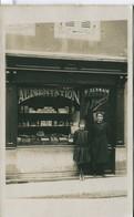 13348  Saone Et Loire - St Germain Du Bois :  Devanture De Magasin  Alimentation Jh. Dupont Circulée En 1909 CP Photo - Francia