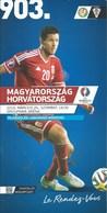 Sport Programme PR000031 - Football (Soccer / Calcio) Hungary Vs Croatia: 2016-03-26 - Programme