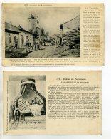"""54 CONTES De FRAIMBOIS 2 Cartes   Le Chapelet De La Brigitte Et La Trouche - écrites 1917  """" Chers Parents """"   /D02-2015 - France"""