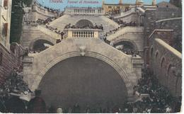 TRIESTE : Tunnel Di Montuzza - Cachet De La Poste 1912 - Trieste