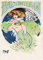 PUB STAGO - BAL DE L'INTERNAT - FLORONE - Femme Art Déco Aux Seins Nus - Advertising