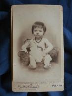 Photo CDV Muller Rault à Paris - Bébé Vers 1900 L393 - Photos