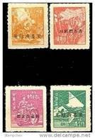 Taiwan 1949 DT13 Domestic Unit Stamps Train Steamship Motorbike Mountain Plane Locomotive - 1945-... Republic Of China