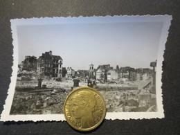 Le Havre - Photo Originale - Eglise St François Vue Du Bassin De La Barre  - Bombardement 5 Septembre 1944 - TBE - - Places