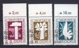 DDR    1368 - 1370   Gestempelt - DDR