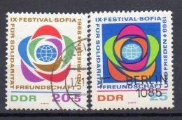 DDR    1377 - 1378   Gestempelt - DDR