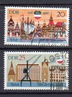 DDR    1384 - 1385   Gestempelt - DDR