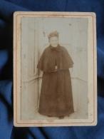 Photo CDV Bouysset - Vieille Femme En Manteau Vers 1900 L393 - Photos