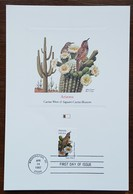 Etats-Unis - CM 1982 - YT N°1384 - Faune Et Flore Officielles Des Etats De L'Union / Arizona - Maximumkarten (MC)