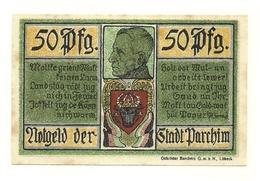 1921 - Germania - Parchim Notgeld N64 - [11] Emissioni Locali