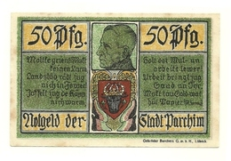 1921 - Germania - Parchim Notgeld N64, - [11] Emissioni Locali