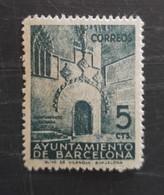 Barcelone  N° 39 Neuf Charnière - Barcelone