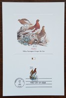 Etats-Unis - CM 1982 - YT N°1383 - Faune Et Flore Officielles Des Etats De L'Union / Alaska - Maximumkarten (MC)