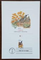 Etats-Unis - CM 1982 - YT N°1386 - Faune Et Flore Officielles Des Etats De L'Union / Californie - Maximumkarten (MC)