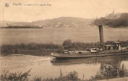 Floreffe : La Sambre Et Le Nouveau Pont ( Met Stoomboot !!! ) - Floreffe