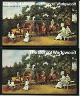 """Großbritannien  1980,  3 Pd. Wedgwood """"Dummy"""" Stamp Booklet) - Booklets"""
