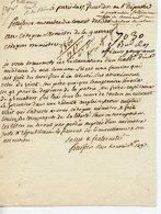 PELISSIER MEMBRE DU CONSEIL DES 500. LAS 17 FRUCTIDOR AN6 ADRESSEE AU MINISTRE DE LA GUERRE RECLAMATIONS D'UN MILITAIRE - Autographs