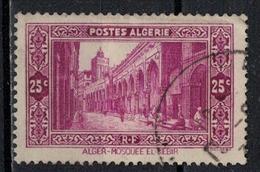 ALGERIE          N°  YVERT      108   ( 4 )  OBLITERE       ( O   1/21 ) - Algerien (1924-1962)