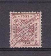 Wuerttemberg - Dienst - 1890 - Michel Nr. 211 - 250 Euro - Wuerttemberg