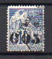 Guyane N° 29 Oblitéré (Alphée Dubois Surchargé) - 1 Dent Légèrement Courte Dans Le Bas - Cote 53€ - Guyane Française (1886-1949)