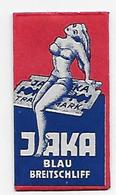 LAMETTA DA BARBA - JAKA BLAU -   ANNO 1955 - - Lamette Da Barba