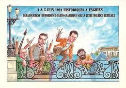 Illustrateurs - Illustrateur Bernard Veyri - Enghien Les Bains - Autographe - Signature - Veyri, Bernard