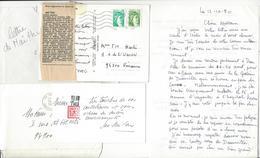 MAI THU (1906 - 1980) INDOCHINE VIETNAM CORRESPONDANCE AUTOGRAPHE AUTOGRAPH à Françoise Marie Harlé  /FREE SHIP. R - Autografi